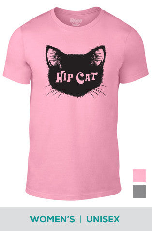 Hip Cat Cotton T-shirt