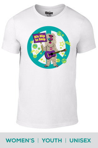 It's Hip to Snip (Dog) Cotton T-shirt