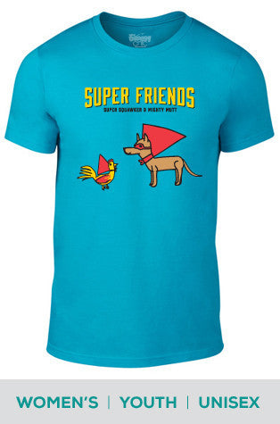 Super Friends Forever Cotton T-shirt