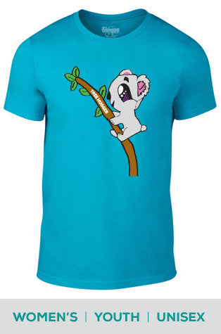 Tree Hugger (Koala) Cotton T-shirt