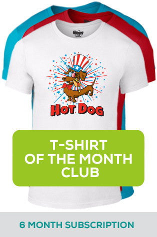 6 Month Subscription to T-shirt-of-the-Month Club
