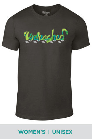 Unleashed Logo Cotton T-shirt