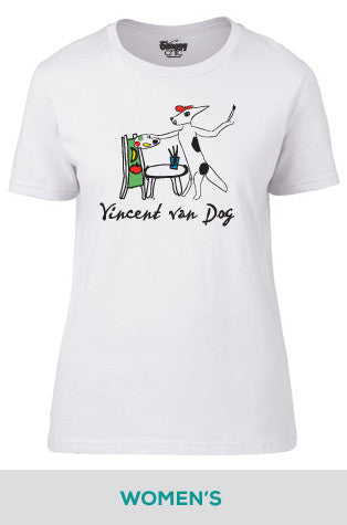 Vincent van Dog Cotton T-shirt in Women's