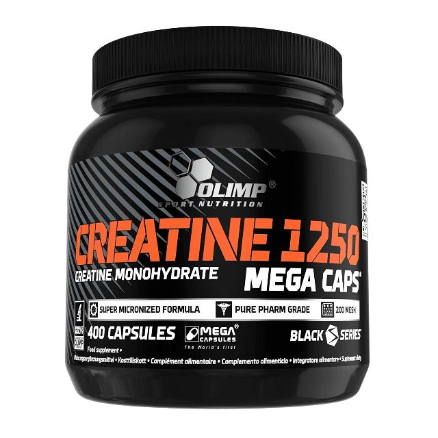 Créatine Monohydrate 1250 Olimp Sport Nutrition 400 Capsules
