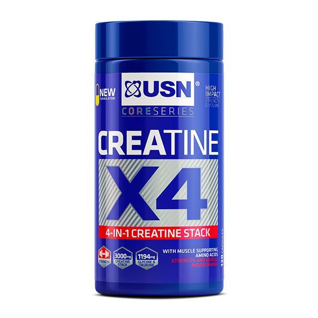 Créatine X4 USN Monohydrate 120 Capsules