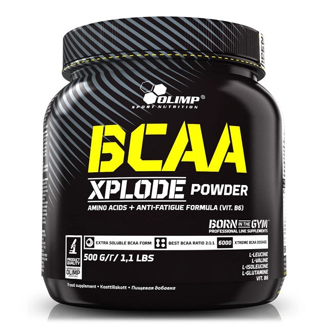 BCAA Xplode Powder Olimp Acides Aminés Glutamine 500 g