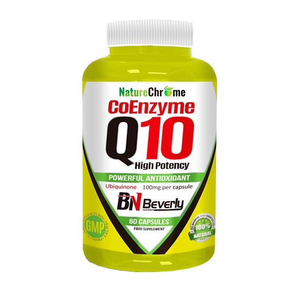Coenzyme Q10 Beverly Nutrition Ubiquinone 60 capsules