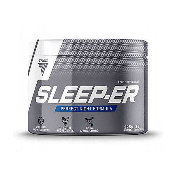 Sleep-Er Trec Nutrition Magnésium Zinc Mélatonine 225 g