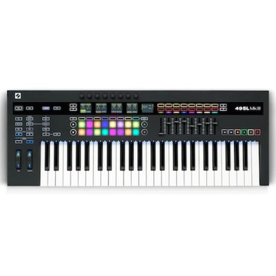 Novation 49SL-MK3 49-Key Keyboard Controller With Semi-Weighted Keys