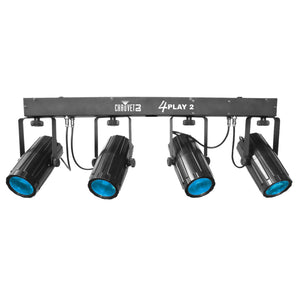 CHAUVET DJ 4PLAY 2 RGBW EFFECT LIGHT