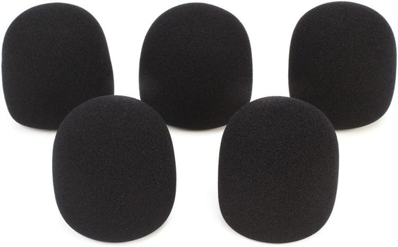 On Stage ASWS58B9Black Windscreen (9-Pack)