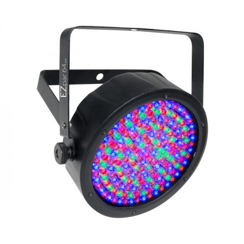 CHAUVET EZPAR 64 RGBA BATTERY POWERED WASH LIGHT - BLACK