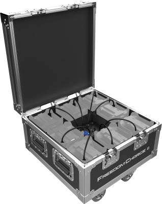 Chauvet DJ Freedom Charge 8 Compact Road Case/Charger for Freedom Series Pars