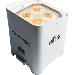 CHAUVET FREEDOM PAR HEX-4 RGBAW+UV BATTERY PAR CAN - WHITE