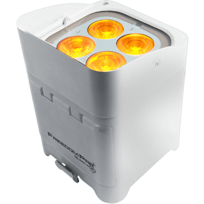 Chauvet DJ FREEDOM-PAR-QUAD-4-IP Temporary Outdoor-Rated Robust - White