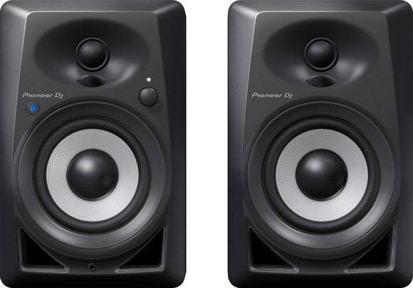 PIONEER DJ DM-40BT 4IN ACTIVE MONITORS (PAIR) W/ BLUETOOTH