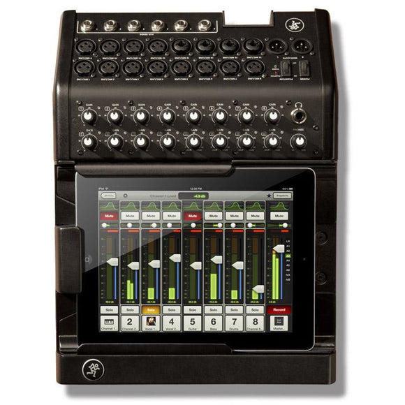 MACKIE DL1608 16-CHANNEL DIGITAL MIXER W/ LIGHTNING IPAD CONTROL