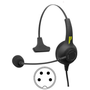 Pliant Technologies PHS-SB11L-U SmartBoom LITE Single Ear Headset, Unterminated