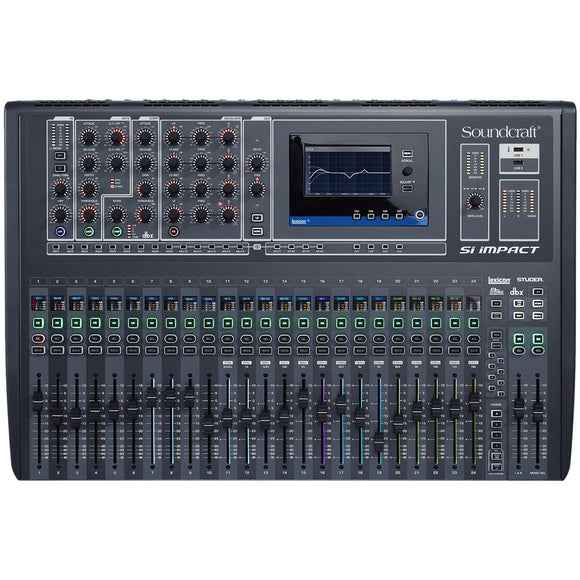 SOUNDCRAFT SI IMPACT 40-INPUT DIGITAL MIXING CONSOLE