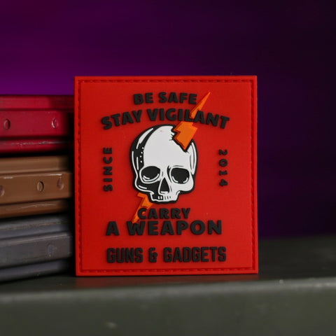 G&G STAY VIGILANT PATCH