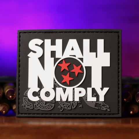 SHALL NOT COMPLY Patch