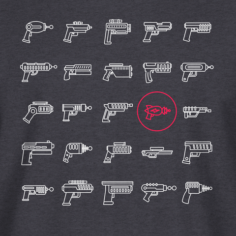 Pew Pew Tactical Retro Laser Tee