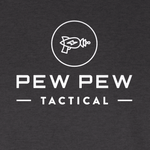 LONG SLEEVE - Pew Pew Tactical Original Tee (Vintage Black)
