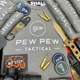 Pew Pew Tactical Original Tee (Warm Grey)
