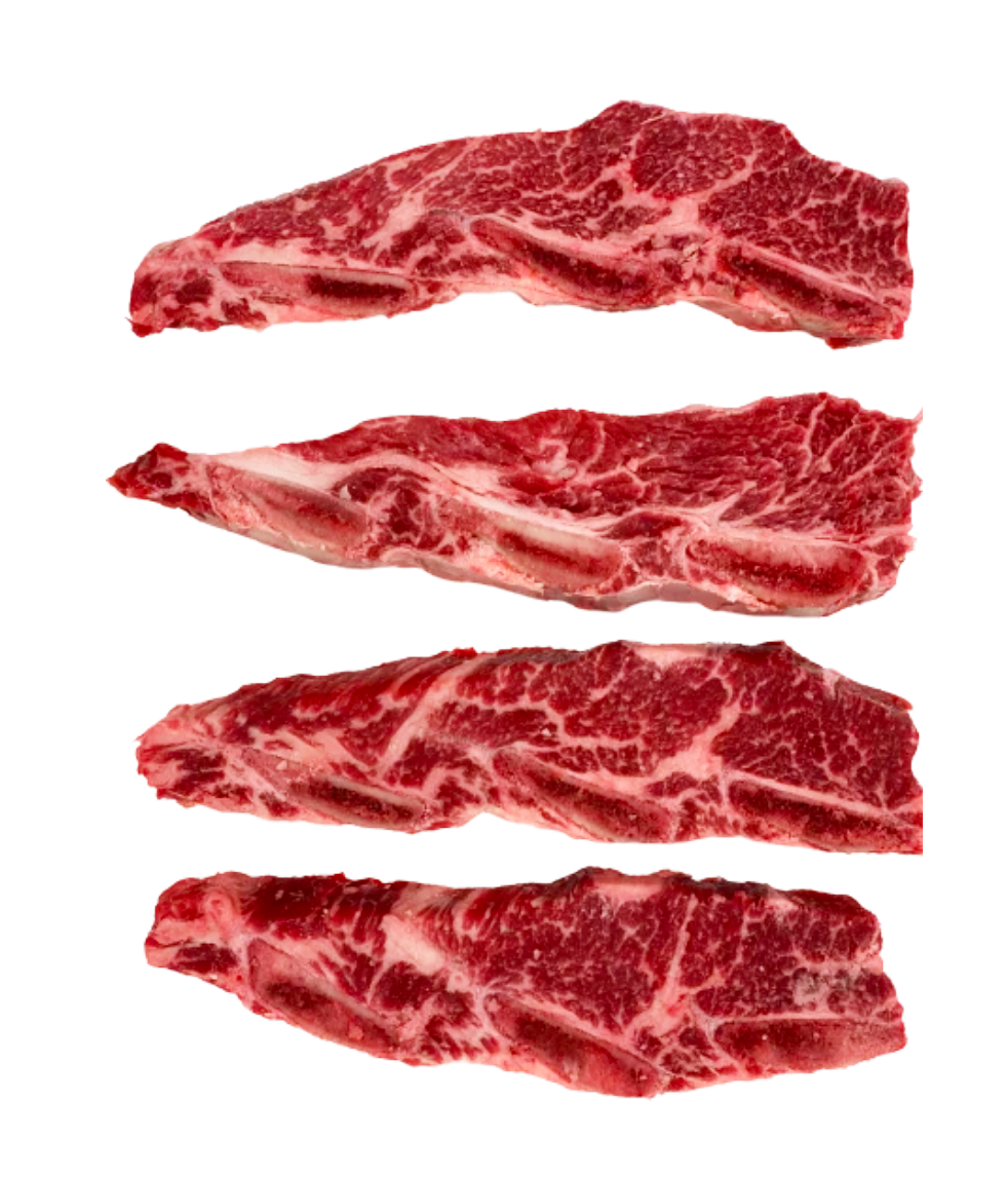 CROSS CUT SHORT RIBS 10-12oz  - 2 PER PACK