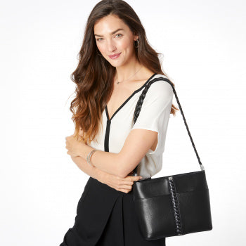 Beaumont Square Bucket Bag Black