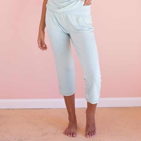 Faceplant Dreams Bamboo Capri Pants