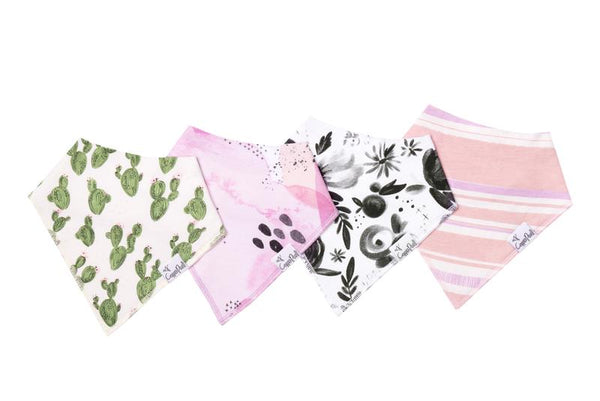 Baby Bandana Bibs Set of 4 - Sage
