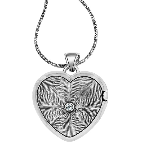 Loving Heart Convertible Locket Necklace