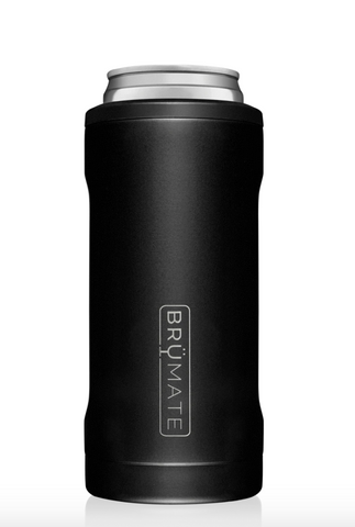 Hopsulator Slim| Matte Black (12OZ Slim Cans)