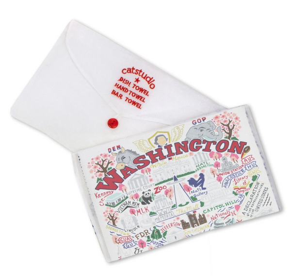 Washington DC Dish Towel