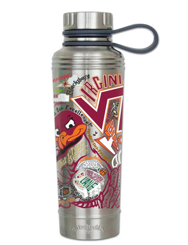 Virginia Tech Collegiate Thermal Bottle