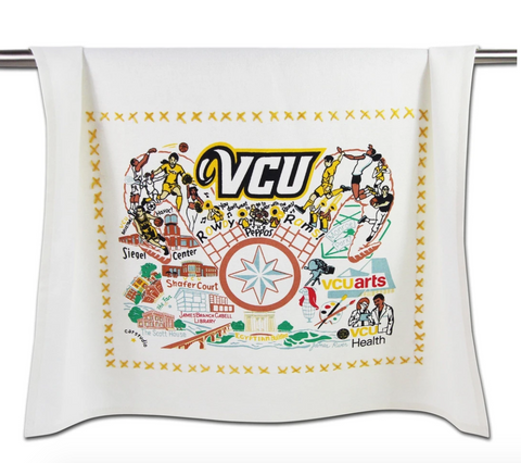 Virginia Commonwealth University (VCU) Collegiate Dish Towel