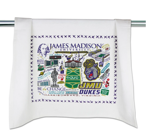 James Madison University ( JMU ) Collegiate Dish Towel