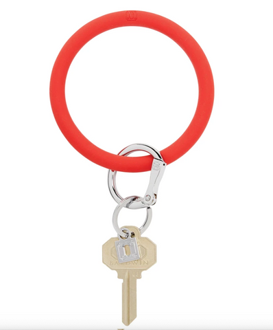 Big O Silicone Key Ring - Cherry on Top