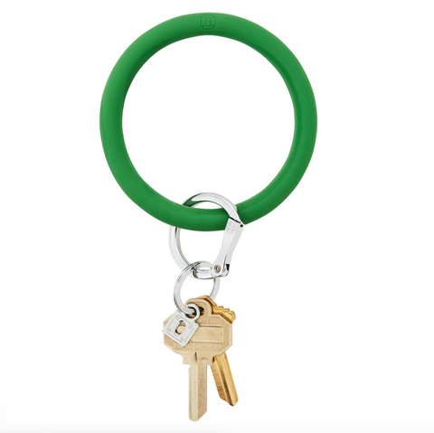 Big O Silicone Key Ring - Shamrock