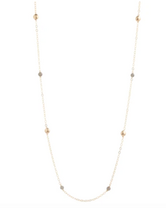"enewton 41"" necklace honesty gold - gemstone"