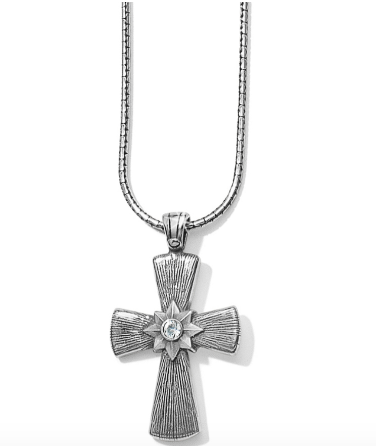 Precious Cross Necklace