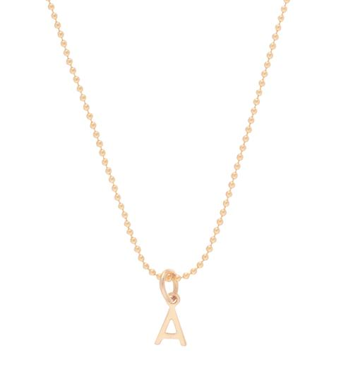 "enewton 16"" Necklace Gold - Respect Initial Gold Charm"