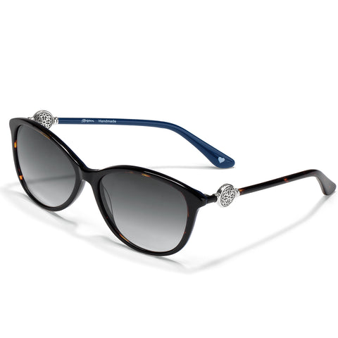 Ferrara Navy and Tortoise Sunglasses