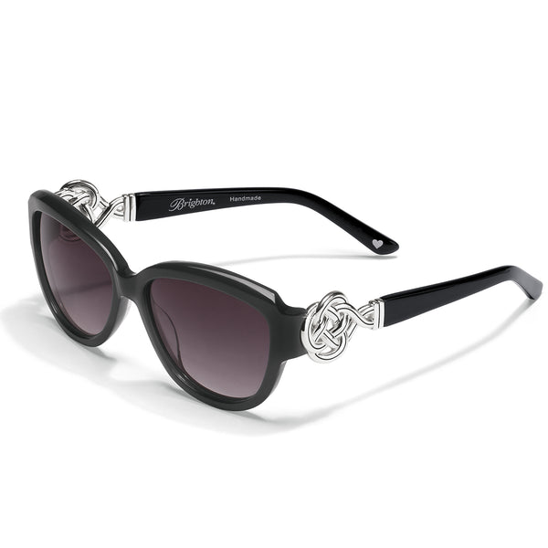 Interlok Black Sunglasses