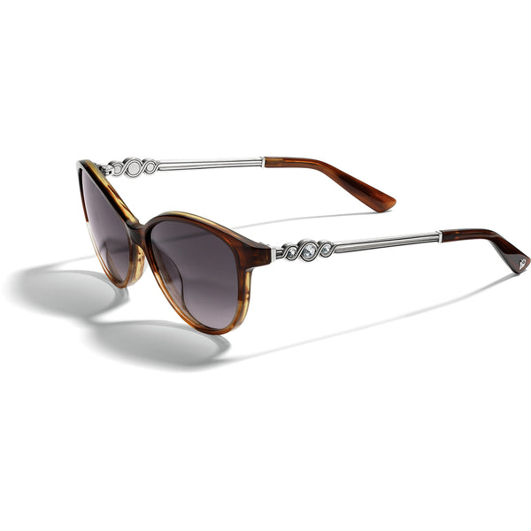 Infinity Sparkle Brown Sunglasses