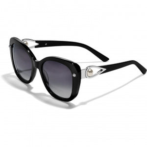 Chara Ellipse Black Sunglasses