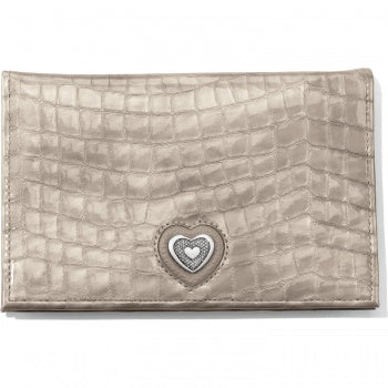 Bellissimo Heart Folio Wallet Beachwood