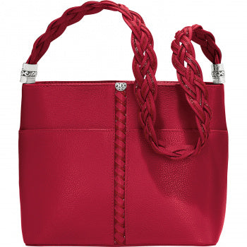 Beaumont Square Bucket Bag Lipstick