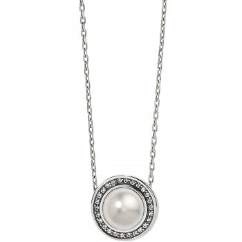 Chara Ellipse Pearl Short Necklace